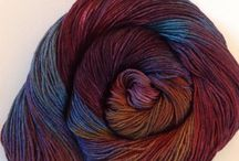 Yarns!!!! / My hand dyed or handspun yarns