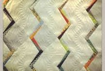 Zen chic quilts / we love zen chic and the modern quilt. Designer Brigitte  Heitland has a very keen sense of colour and line. I had the pleasure of meeting her at Houston Quilt Market.