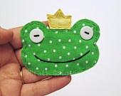 Applique  - Frogs !