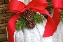 Sweterkowe dekoracje