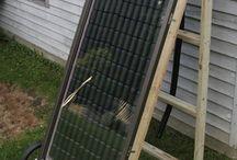 soda can solar heater