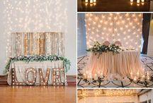 Wedding Head Tables