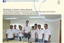 A Journey Shared / This is a story, the journey of Sheraton Bali Kuta Resort and the team's memory and shared moments