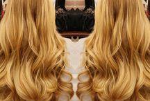 Hair - golden blond