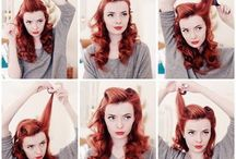 { pin-up tutorials } / The skinny on the victory rolls, finger waves and pin curls of your dreams.