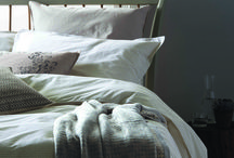 Bedding / Soft, touchable cotton stripes and cotton percale prints make for the perfect cool and comfortable bedlinen. The stripes have been inspired by vintage ticking fabrics, beautifully complementing the small scale geo prints of our designs.