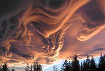 cloudy skies / by Rita Harris