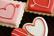 Cakes/Cookies.Valentine