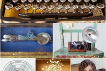 Vintage Wedding Decor Ideas / 100 Braid St studios was built with old windows, reclaimed wood, and recycled materials.  Vintage & rustic weddings look amazing in our space!