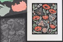Linocut/Inkprint