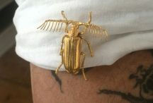 Schmuck, Berlin, Gold, Kupfer, silber, entomologie, Käfer, Insekten, Kuriositäten, jewellery, Insects, bugs, entomology, curiosities / Vanity