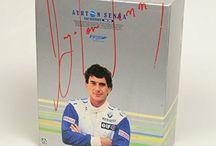Ayrton Senna. F1