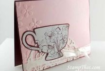 Craft: Cards-Teatime