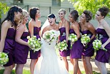 Amanda's Purple Wedding / Inspiration for my sisters wedding day!
