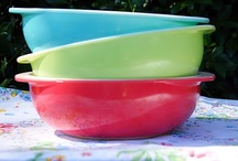 Vintage Dishes-Pyrex, Depression Glass, Milk Glass, etc