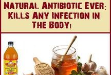 ANTIBIOTICS NATURAL CURE