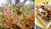salsas y ensaladas