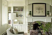 Bookshelves / by Stephanie Finch