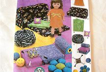 18 inch doll patterns - furniture / by GiGi's Doll Creations