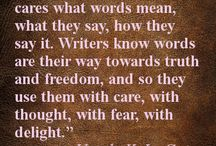 About writing
