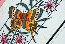Paper Wings Productions stamp coloring ideas