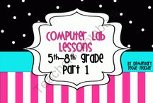 6-8th Grade Computer Lessons / by Aimee Bloom