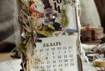 календари / магниты