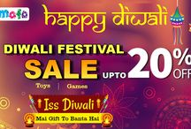 Happy Diwali / Diwali Dhamaka Sale at Tomafo.com Get Upto 20% OFF on all Toys and Games ..!!