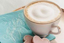Beautiful coffe / Coffe, morning, relax time, enjoy