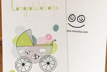 new baby congratulation card