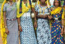 Beautiful nomadic people
