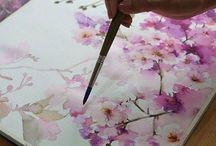 Art painting  skills