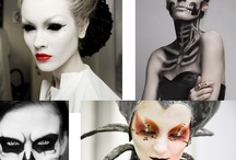 make up. Body paint