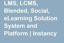 Instancy Learning Platform / Learning Management System(LMS), learning record store, Learning Content Management System(LCMS), Blended Learning, Social Learning, eLearning Solution System and Platform. Visit: http://www.instancy.com more info.