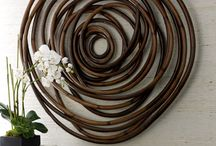 Ronde cirkel / Hout