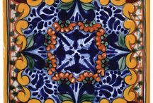 Talavera Tiles / Handcrafted artisan crafted decorative using centuries-old techniques, producing unequalled intricacy of design / by Native Trails