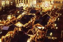 German Christmas Markets / I fell in love with the German Christmas Markets during my trip to Germany in 2015. I used those markets for a novel too ;)