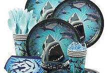 Shark Party Ideas / Celebrate Shark Week or give a shark lover the party of his or her dreams with this amazing party theme