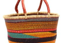 Shopping Baskets / These Fair Trade baskets are handy to have when you go to market. And they are so pretty!