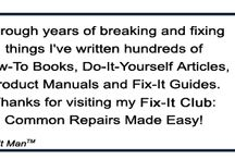 Fix-It Guides