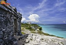 The Ruins in Mexico / Come travel the Ruins in Mexico with Absolute Adventure! Enjoy your private tour Fron Cancun or Playa del Carmen.