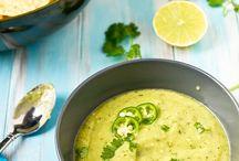 Food Dips, Hummus and Salsa