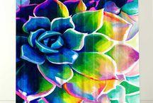 colours i Love / Farver jeg kan lide.