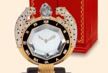 Cartier Mystery Clocks / by Candy Spelling