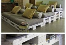 Mattress Cushions and Sofas
