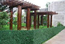 Bahçe Çiti / Bahçenizin sınırlarını belirleyen ve güvenliği sağlayan dekoratif bahçe çitleri