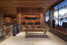 Prada, Crans Montana / Structural glass work in Prada shop - Crans Montana.