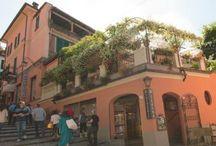 Ristorante Bilacus / Ristorante con giardino. Restaurant with gardens.