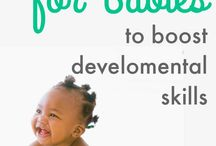 Infant learning activities