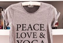 Yoga Tee / Let's wear some special yoga shirts.